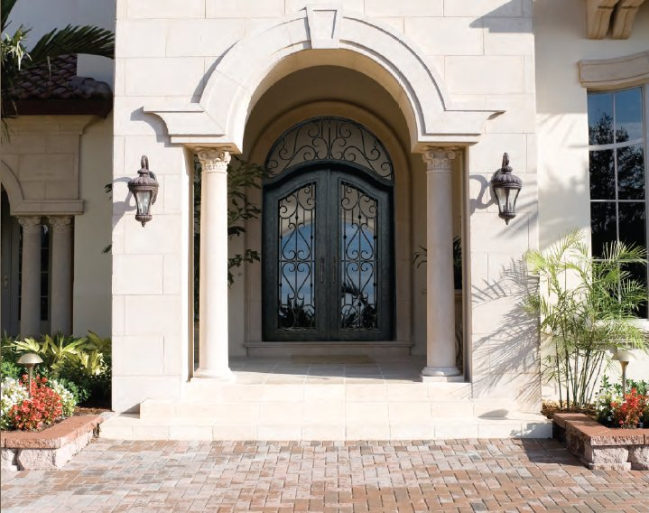 Iron Glass Front Entry Doors 719 x 568 · 93 kB · jpeg